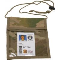 Vertical Neck Military ID Holder, Multicam