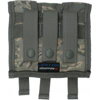9mm, Ammo Pouch, Holds 3 clips, MOLLE