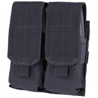 M4 double pocket ammo pouch, Black