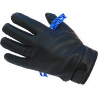 Tactical Leather Rappelling Glove, Black