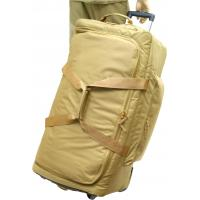 Wheeled Deployment Bag, Coyote, Retractable Handle