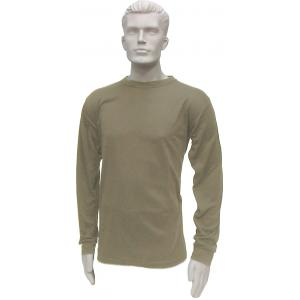 Thermal Crew Neck Top, Mid-Weight, Sand