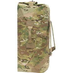 Duffel Bag, 2 Shoulder Straps, Multicam