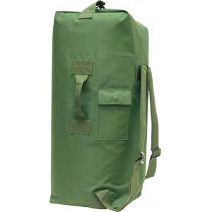 Duffel Bag, 2 Shoulder Straps, OD Green