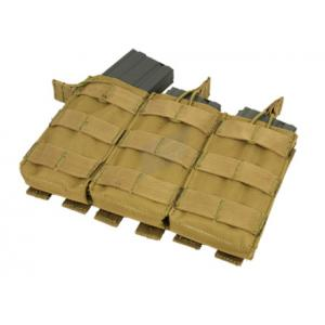 M16 Triple mag pouch, Open-top, Coyote