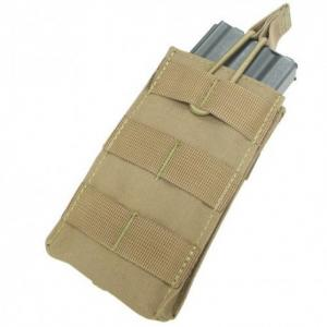 M16/M4 single pocket, Open top ammo pouch, Coyote