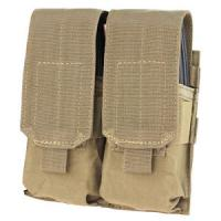 M4 double pocket ammo pouch, Coyote